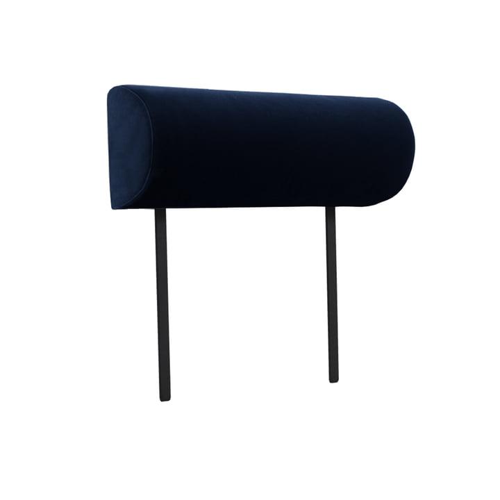 Armrest for Weber modular sofa from Objekte unserer Tage in dark blue (City Velvet CA7832/052)