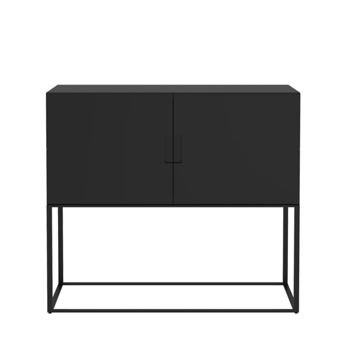 Fischer shelf system, Design No. 1 from Objekte unserer Tage in black
