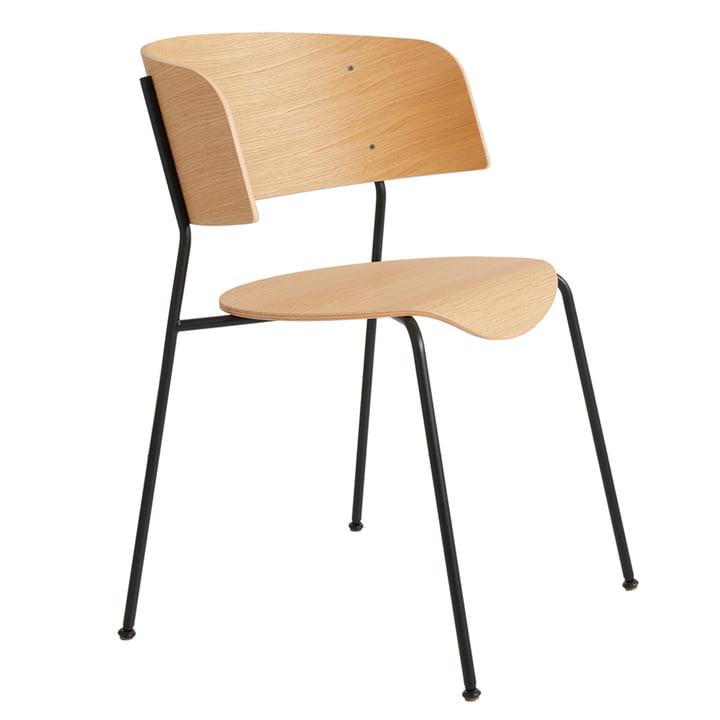 Wagner armchair from Objekte unserer Tage in oak matt lacquered