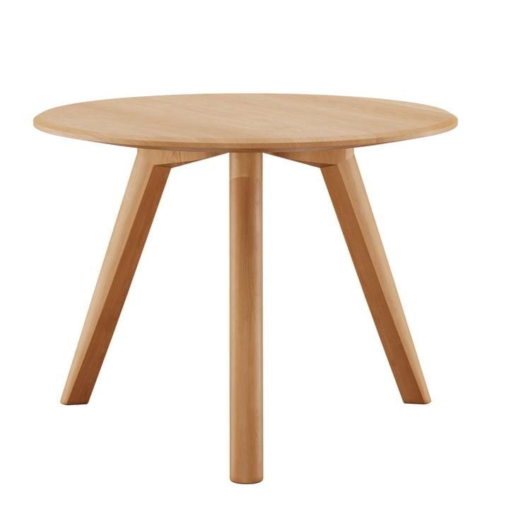 Meyer coffee table Medium H 45 Ø 58 cm from Objekte unserer Tage waxed in oak