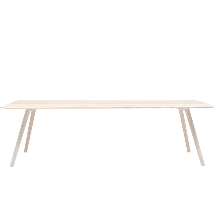 Meyer Table XXLarge 260 x 92 cm from Objekte unserer Tage in waxed ash