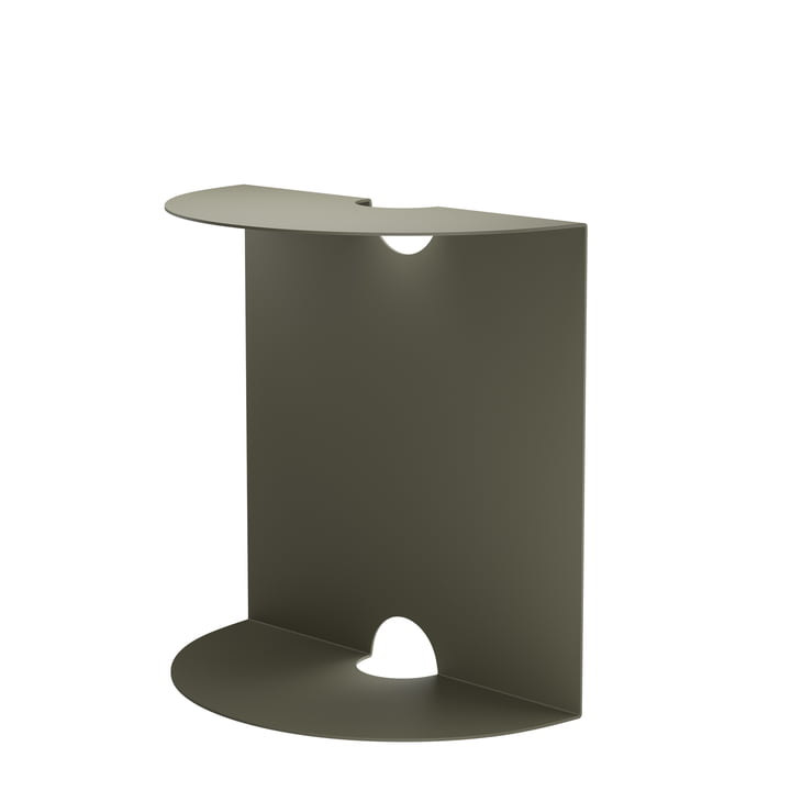 Weber side table from Objekte unserer Tage in olive