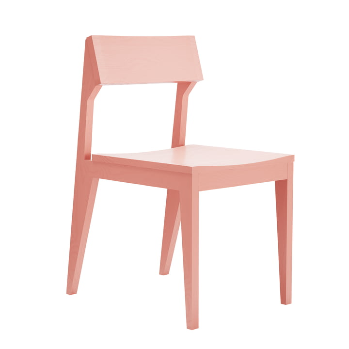 Schulz chair from Objekte unserer Tage in apricosa