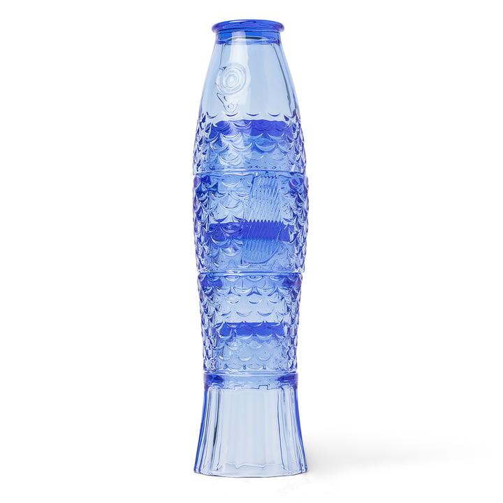 Koi fish drinking glass set (4 pcs.), blue by Doiy