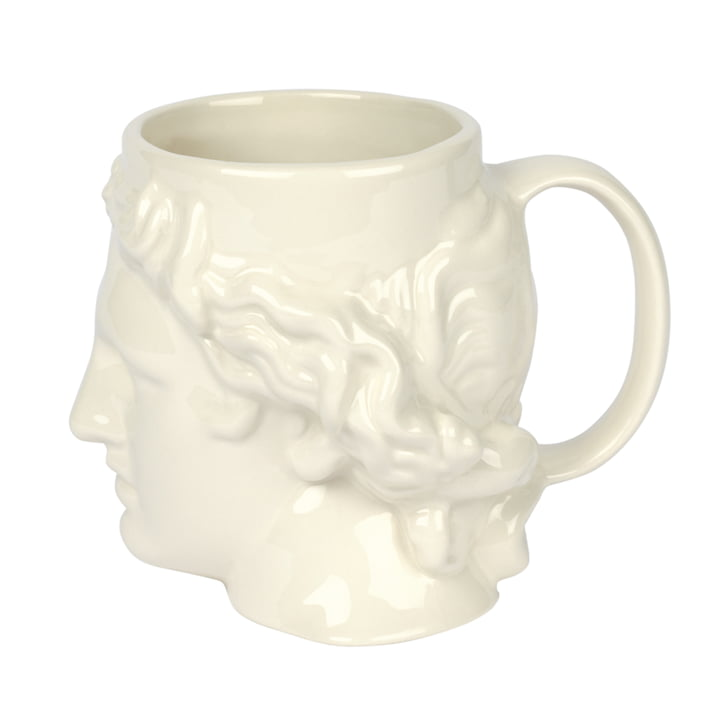 Apollo Cup with handle, white from Doiy