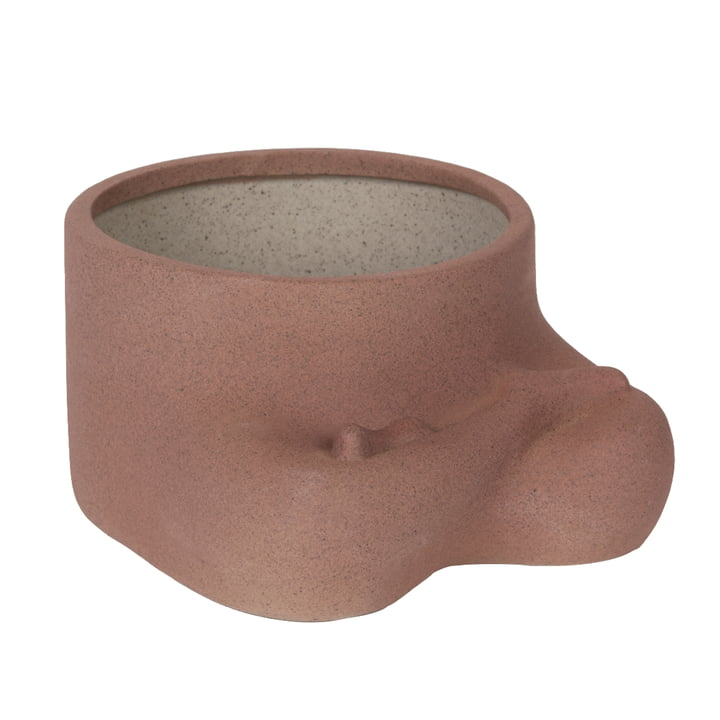 Namaste Flowerpot, brown from Doiy