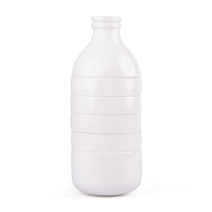 Doiy - With Milk Carafe and cup set, white