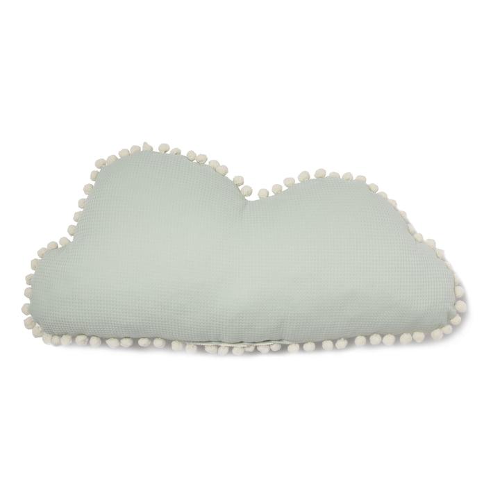 Cloud Marshmallow pillow, 30 x 58 cm, aqua by Nobodinoz