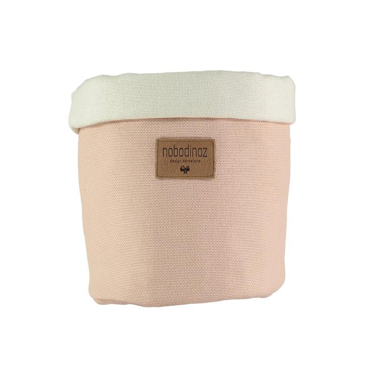 Tango storage basket medium, Ø 19 x H 24 cm, bloom pink by Nobodinoz