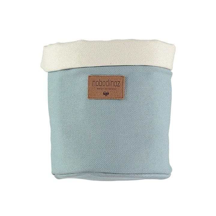 Tango storage basket medium, Ø 19 x H 24 cm, riviera blue by Nobodinoz