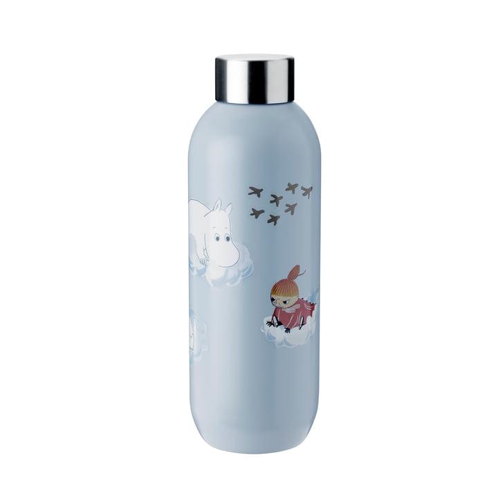Keep Cool Moomin Drinking bottle 0,75 l from Stelton in cloud