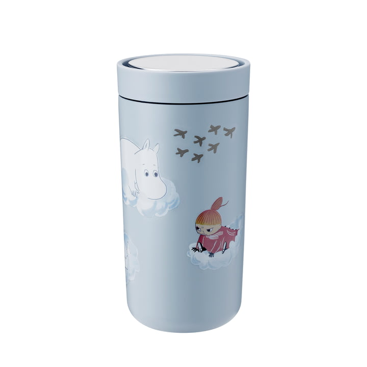 To Go Click Moomin 0.4 l double-walled from Stelton in soft cloud
