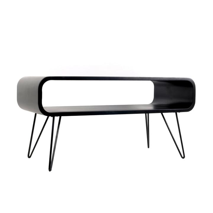Metro Coffee Table , black / black from XLBoom