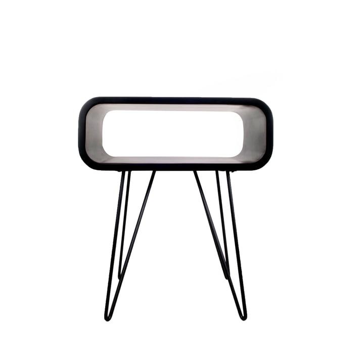 Metro End Table , black / black from XLBoom