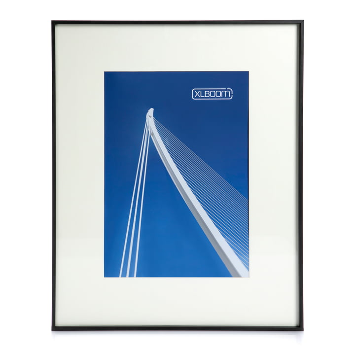 Leon Picture frame A2, black from XLBoom