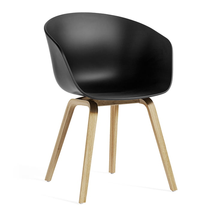 About A Chair AAC 22 ECO from Hay in oak / black