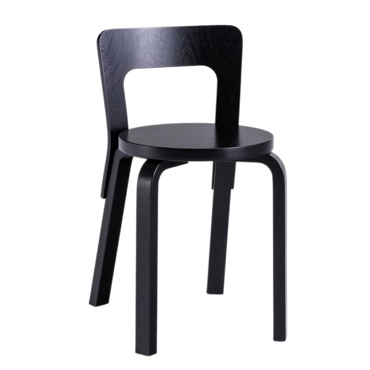 65 chair by Artek in black