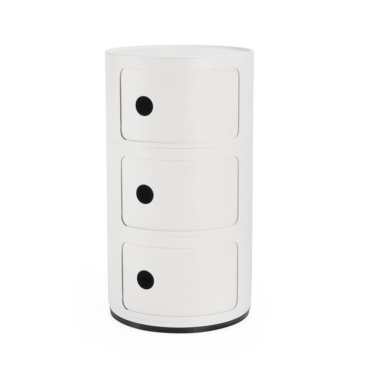 Componibili 4988, white matt by Kartell