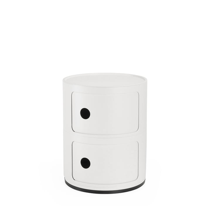 Componibili 4986, white matt by Kartell