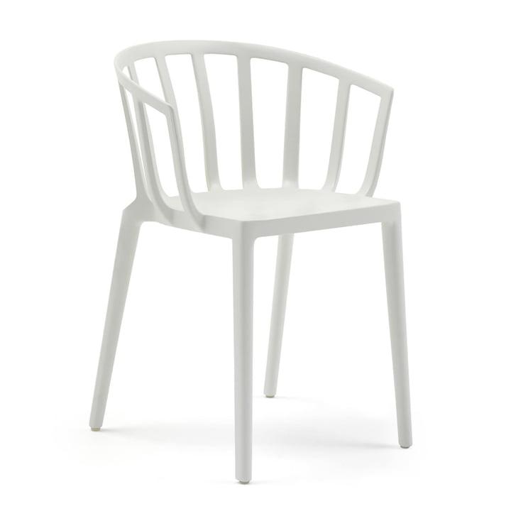 Venice chair, white matt by Kartell