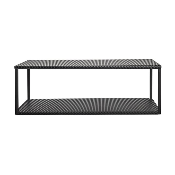 Grid wall shelf by Kristina Dam Studio in black