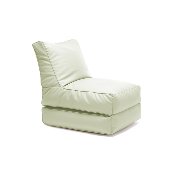 Flex bed by Sitting Bull in soft green