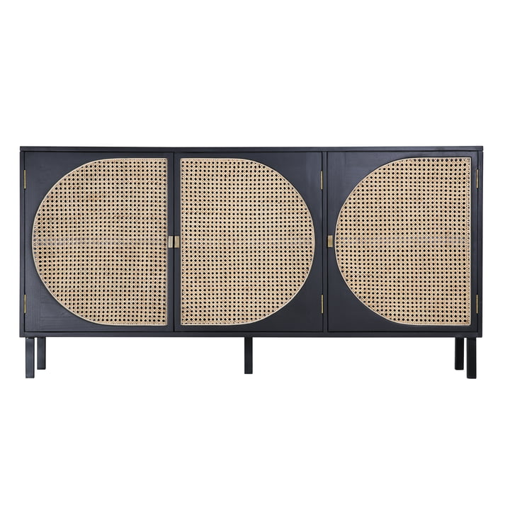 Webbing sideboard, black by HKliving