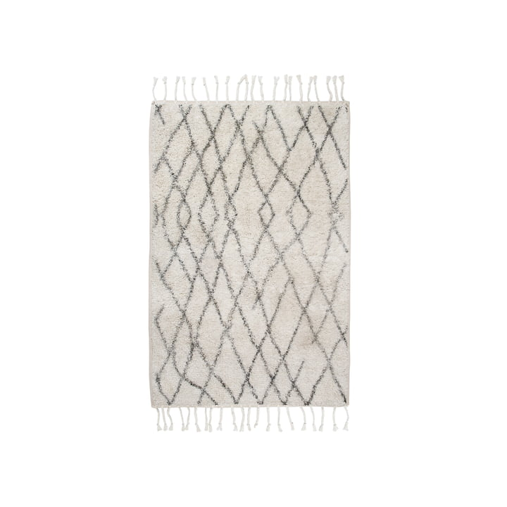 Bath mat M 60 x 90 cm by HKliving in gray