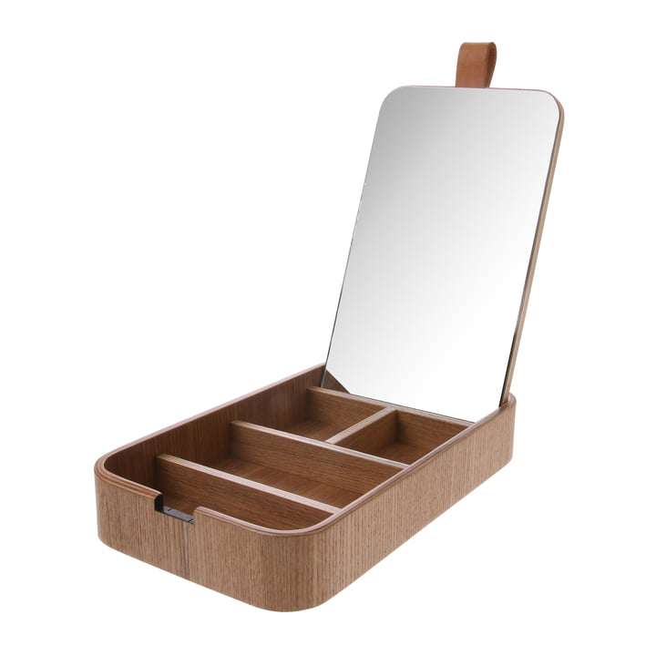 Willow jewelry box with mirror, ash from HKliving