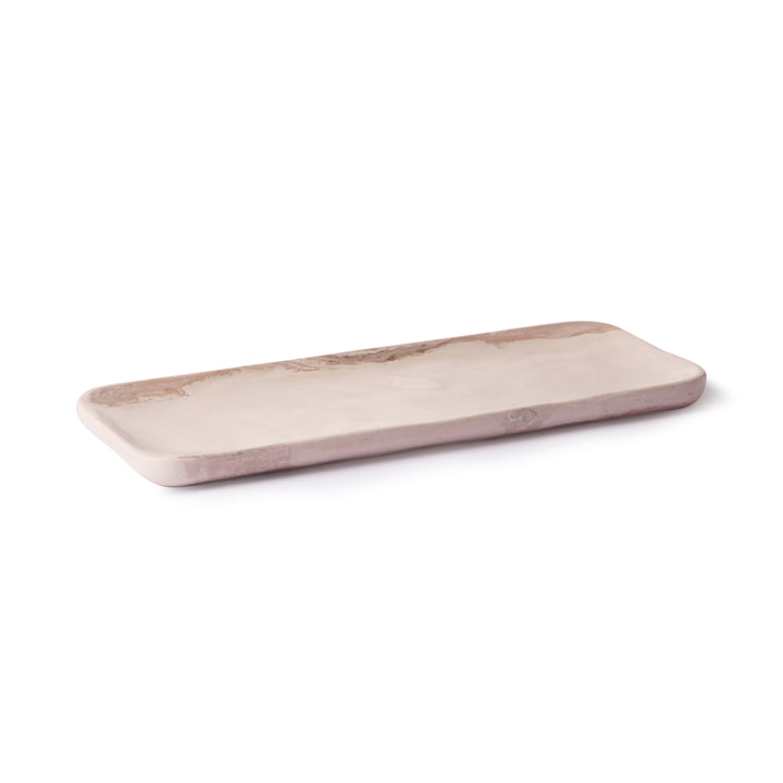 HKliving 30 x 12 cm by HKliving in marble pink