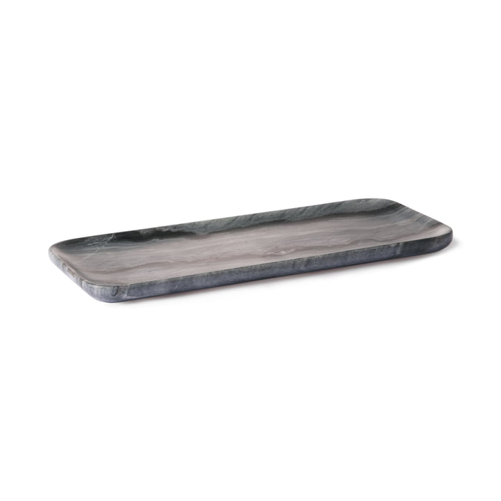 HKliving 30 x 12 cm by HKliving in gray marble
