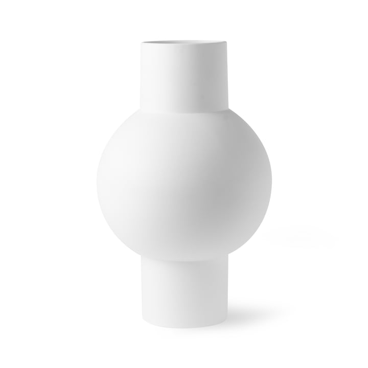 Vase M, Ø 21 x H 32 cm, matt white from HKliving