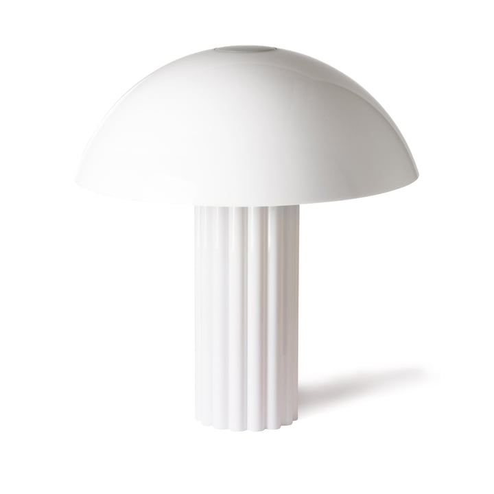 Cupola table lamp by HKliving in white