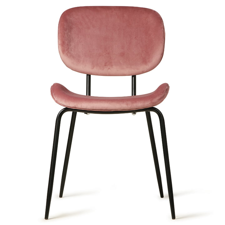 Velvet chair, pink by HKliving
