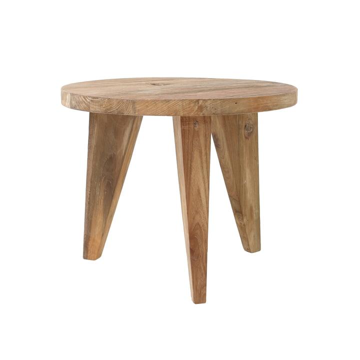 Teak side table S, Ø 50 cm by HKliving