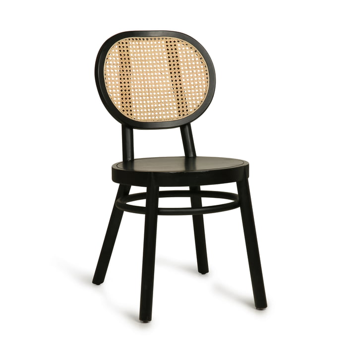 Retro Webbing chair, black by HKliving