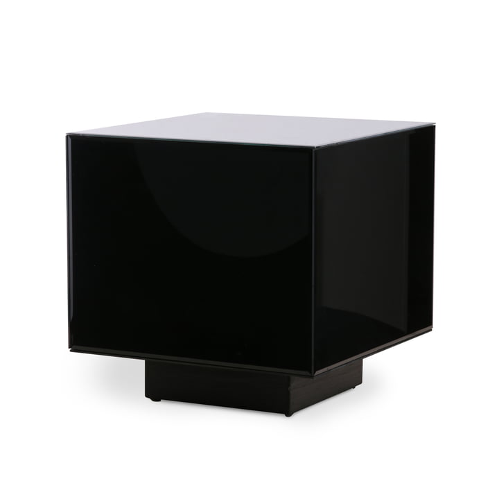 Block side table M, mirror, black by HKliving