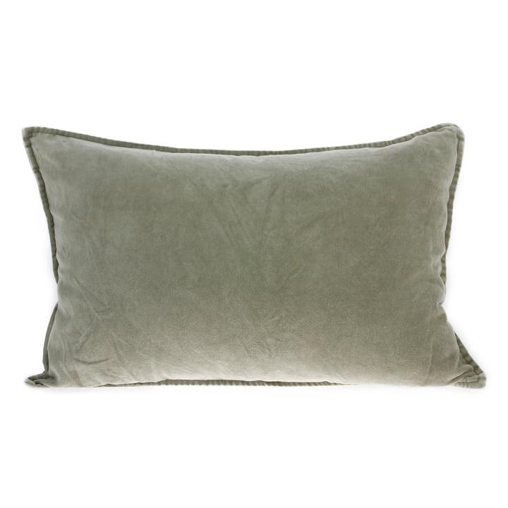 Velvet cushion 40 x 60 cm by HKliving in green