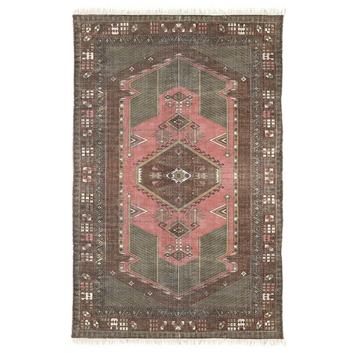 Stonewashed rug 120 x 180 cm by HKliving in multicolor