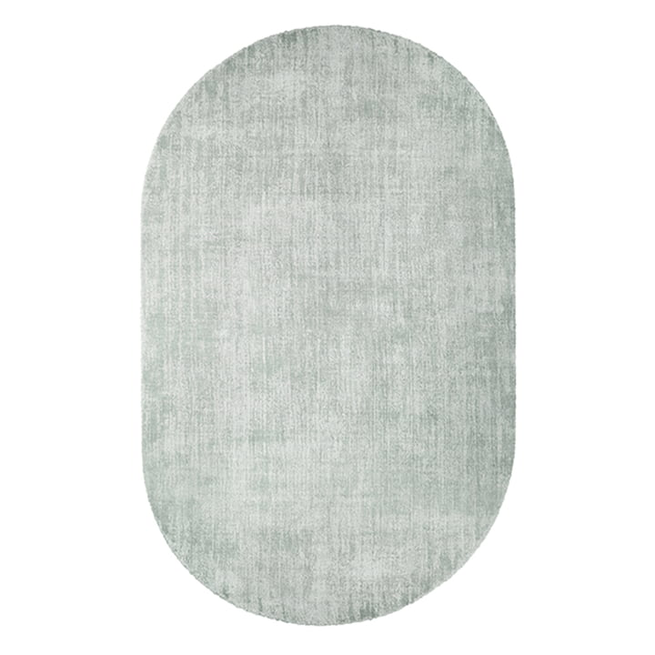 Rug oval 150 x 240 cm by HKliving in mint green