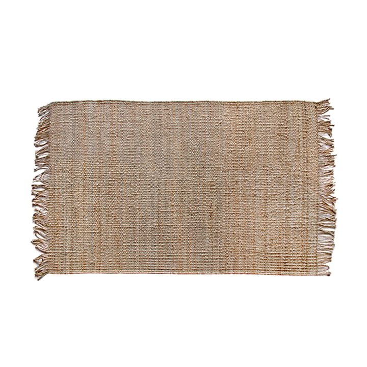 Jute rug 120 x 180 cm by HKliving in natural
