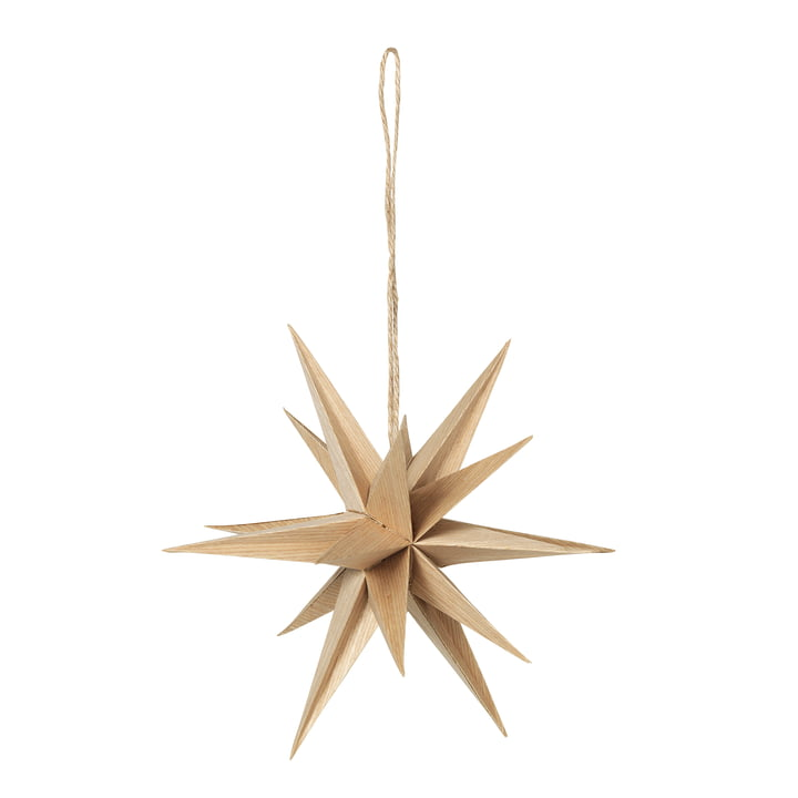 Venus star pendant, Ø 20 cm / natural from Broste Copenhagen