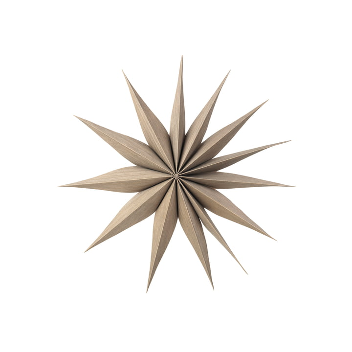 Venok decorative star M, Ø 40 cm / fungi by Broste Copenhagen
