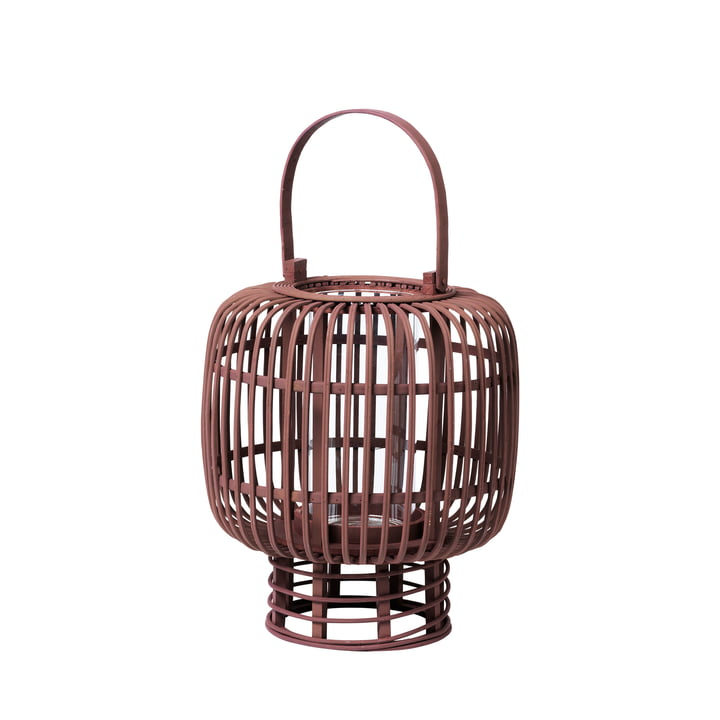Goran bamboo lantern, Ø 27.5 x H 33 cm, port royale by Broste Copenhagen
