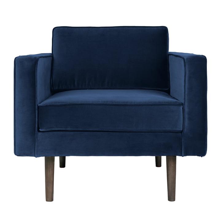 Broste Copenhagen - Wind armchair, insignia blue