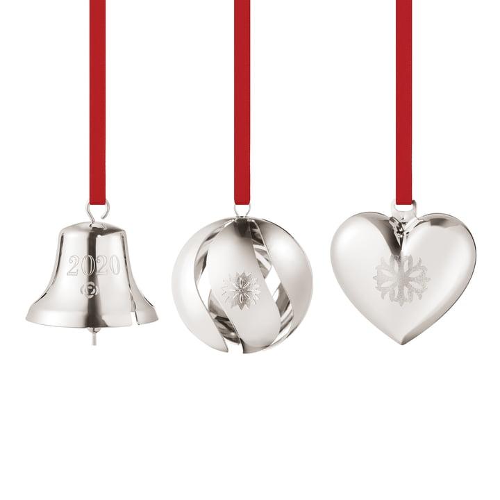 Gift set 2020 (3 pieces), palladium by Georg Jensen .