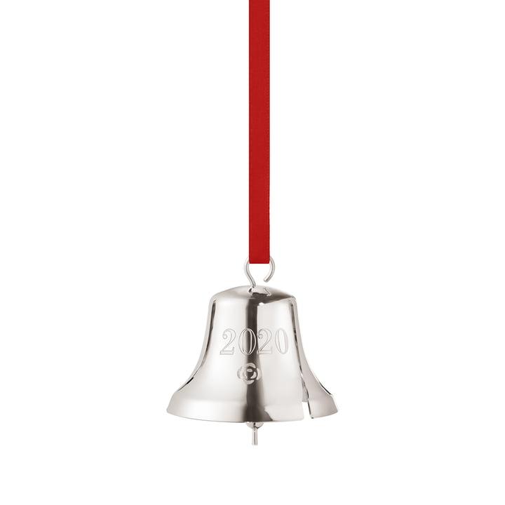 Christmas bell 2020, palladium by Georg Jensen .