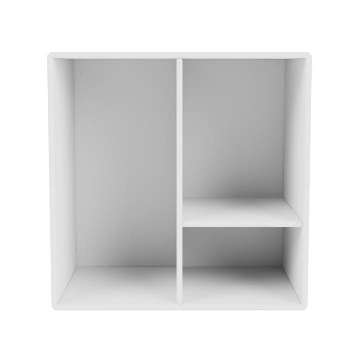 Mini shelf module with shelves, new white from Montana .
