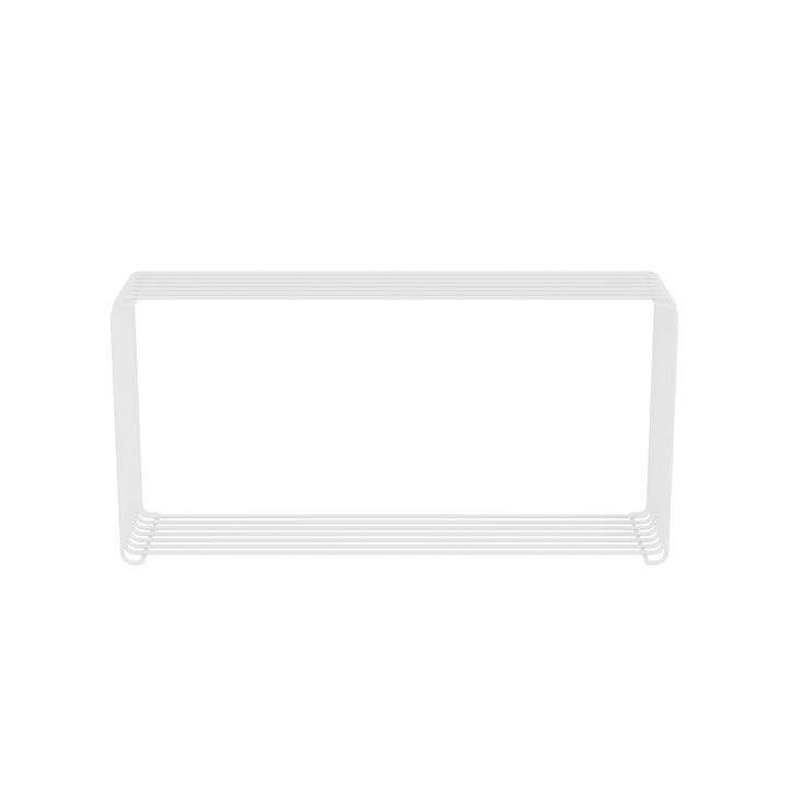 Panton Wire Extended shelf 18.8 cm, white from Montana .