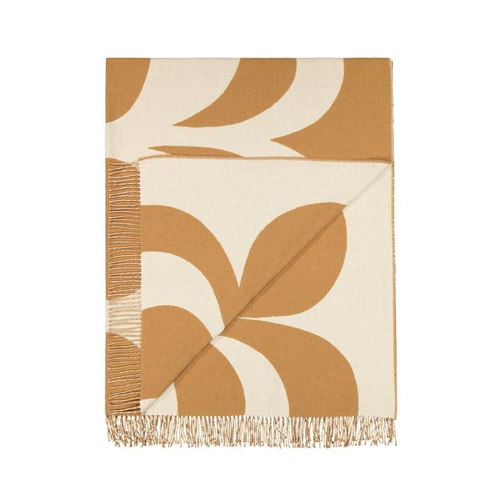 Kaivo blanket 140 x 180 cm by Marimekko in off-white / beige